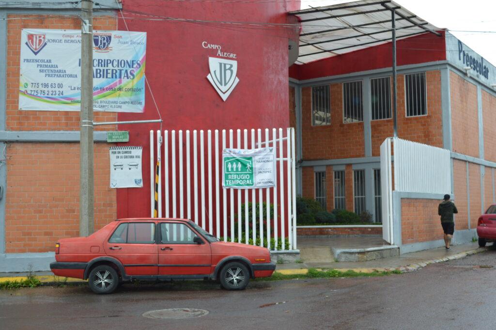 Colegio Jorge Berganza en Jaltepec